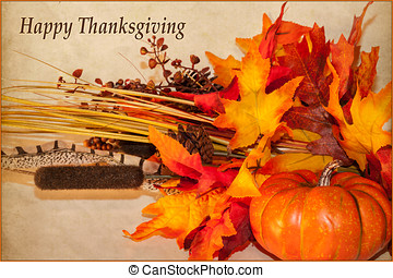 Happy thanksgiving card with pumpkins happy thanksgiving message happy thanksgiving card m4hsunfo