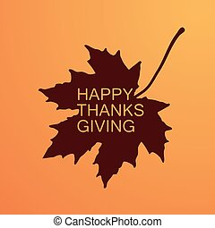Happy Thanksgiving Day. Holiday Vector Illustration With...