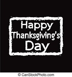 Happy Thanksgiving Day Illustration design