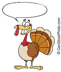 Happy Thanksgiving Turkey Bird