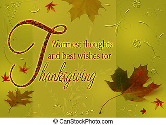 Happy Thanksgiving Wishes - Thanksgiving Greetings,...
