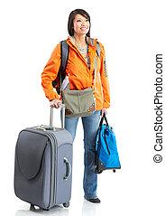 tourist woman