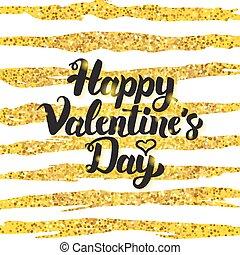 Happy Valentine Day Handwritten Card