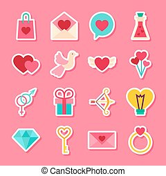 Happy Valentine Day Stickers