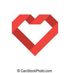 Happy valentine day. Vector illustration of valentine day on white background