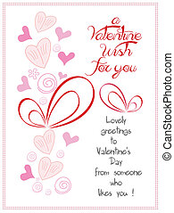 happy valentine wish for you