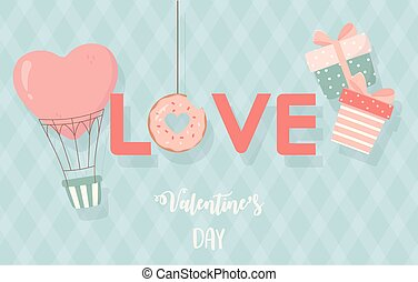 happy valentines day air balloon gifts love romance