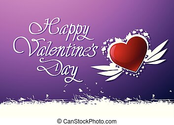Happy Valentines Day Background Cute Greeting Card For Love Holiday