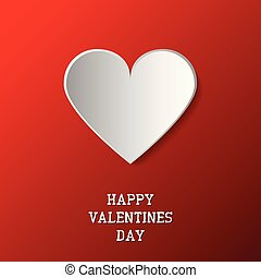 Happy valentines day background paper origami heart. Romantic greeting card,poster,brochure,cover