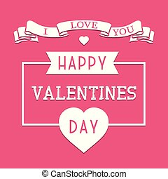 Happy valentines day background. Romantic greeting card,poster, brochure, cover