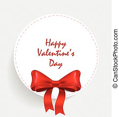 Happy Valentine's day card. Vector illustration.