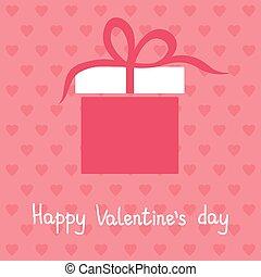 Happy Valentine's day card, vector illustration