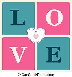 happy valentines day cards retro style