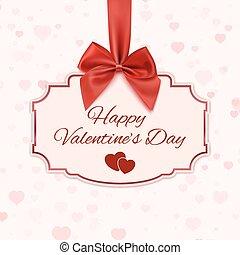 Happy Valentine's day classic banner