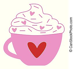 Happy Valentines Day Coffee