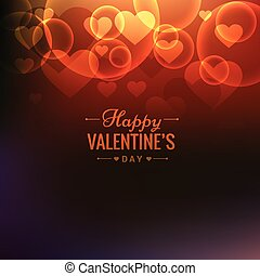 happy valentines day colorful background