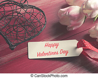Happy Valentines Day concept background