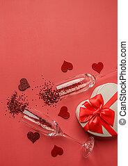 Happy Valentines Day concept.