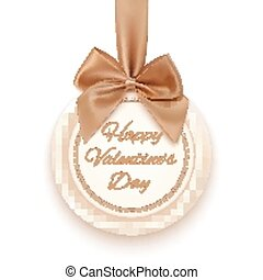 Happy Valentines day greeting card.