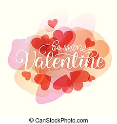 Happy Valentines Day Hand Drawing Vector