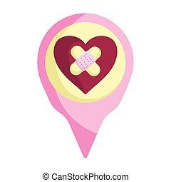 happy valentines day, pin sad heart
