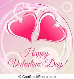 Happy Valentine's Day romantic card
