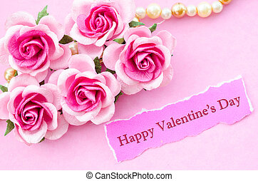 Happy Valentine S Day Text On Light Background Happy Valentine S