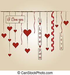 Happy Valentine's day - Stamp Happy Valentine