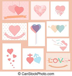 happy valentines day vector illustration background