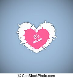 Happy valentines day. Vector illustration.