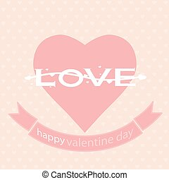 happy valentines day vector illustration background