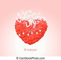 Happy valentines day wishes. Valentines day party poster
