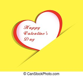happy valentines day with hearts