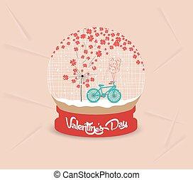 happy valentines day with romantic