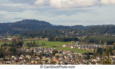 Happy Valley Oregon Timelapse 1080p