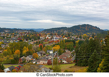 Happy Valley Residential Neighborhood by Mount Talbert