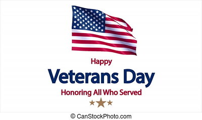 Happy Veterans Day USA