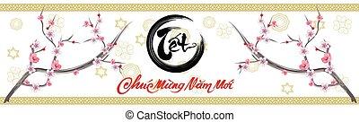 Happy vietnamese new year luna new year Vietnamese ...