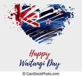 Happy Waitangi day - New Zealand holiday
