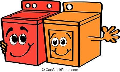 Happy Appliances - Washer & Dryer