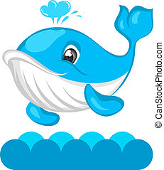 Whale - Happy Whale