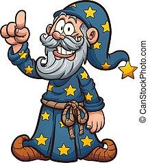 Happy wizard