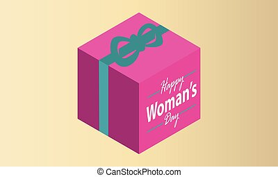 Happy Woman's Day Template