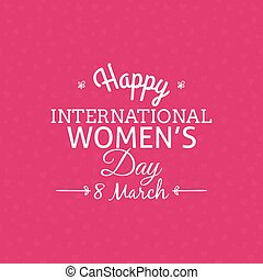 abstract women day background with some special objects