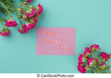 Happy women's day. Eight march present for women's day ...