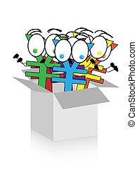 happy yens in box