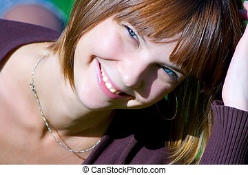 happy young girl 2