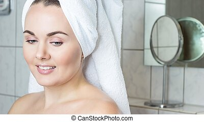 Asian Girl In The Shower