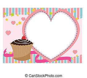 happybirthday cake vector of illustration