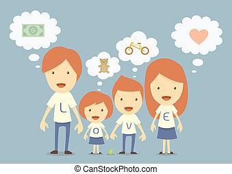 hapy family, dream